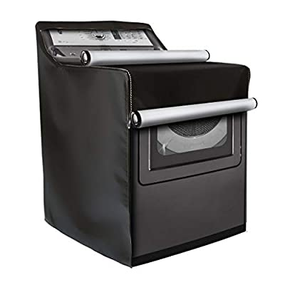 Washing Machine Cover,W29in D28in H40in,Washer/Dryer Cover Fit Most Top Load or Front Load Washers/Dryers,All Weather Protection
