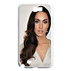 Samsung Galaxy Note 2 Case Megan Fox Old Hollywood's Hair, Tyquin, {White}