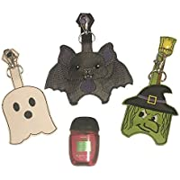 Halloween Theme Hand Sanitizer Holder Key Fob