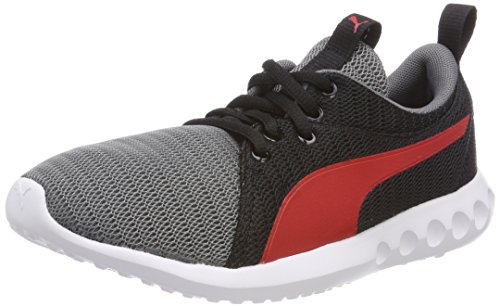 Puma Carson 2 Jr, Zapatillas de Running Unisex Niños Multicolor (Quiet Shade-flame Scarlet)