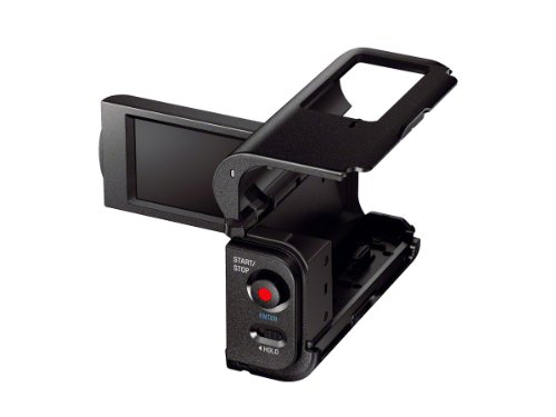 (Sony AKA-LU1  Camcorder Cradle with LCD  for Sony Action Cam HDR-AS10 and HDR-AS15 (Black))