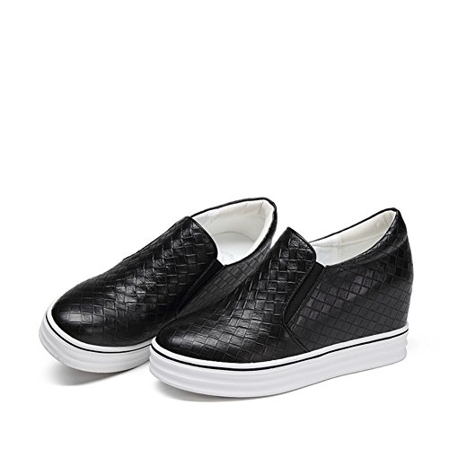 Zapatos de aumento de altura/Fija los pies zapatos/Redondo zapato respirable/Zapatos casuales de moda A