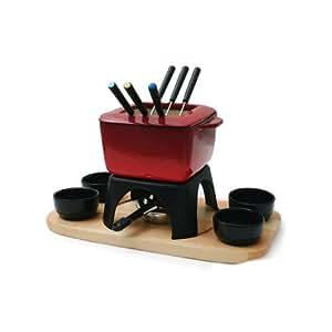 Swissmar mont blanc 15 piece meat fondue set for Naaptol kitchen set 70 pieces