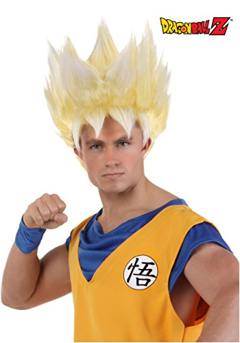 Fun Costumes Super Saiyan Goku Wig (Saiyan Halloween Costume)