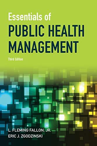 Essentials of Public Health Management
