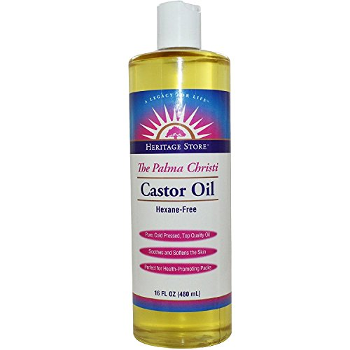 Heritage Castor Oil 16 Ounces ( 2 Pack - Store Heritage Castor Oil