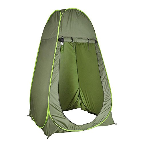 Pop Up Privacy Shelter : Aw quot portable changing pop up green toilet tent