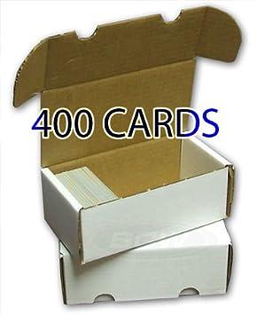 Toploads Storage Box para 400 tarjetas mininfo - Caja para ...