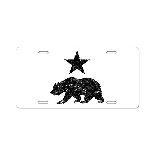 - 88BoydBertha California Republic Distres - Aluminum License Plate,Front License Plate 12.5x6.5 Inches by