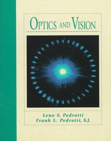 Optics and Vision by Pearson