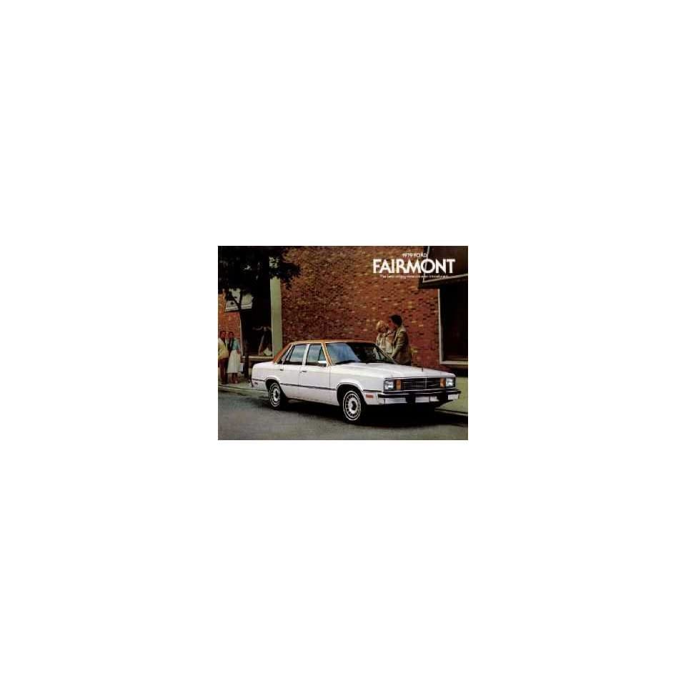 1979 Ford Fairmont Sales Brochure Literature Book Piece Dealer Advertisement