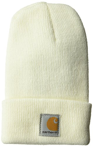 Carhartt Youth Acrylic Watch Hat, Marshmallow, Toddler (Crochet Baby Newborn For Hat)