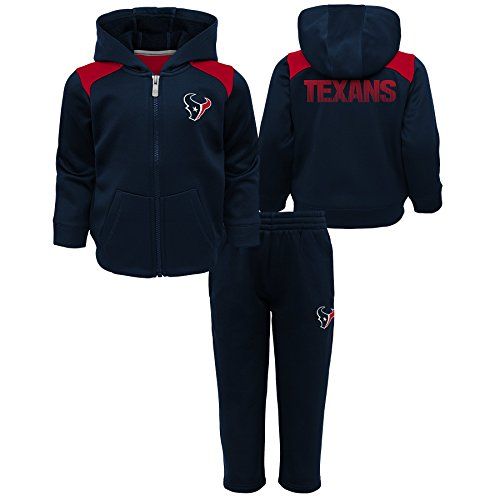 - Outerstuff NFL Houston Texans Toddler Play Action Performance Fleece Set, Deep Obsidian, 2T