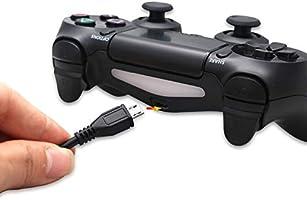 NAttnJf 300cm Cavo di Ricarica per PS4 Controller USB