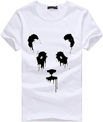 Deals,Herren T-Shirt Ronamick Katzen M/änner Druck Tees Shirt Kurzarm T Shirt Bluse Runde Kragen Angebote