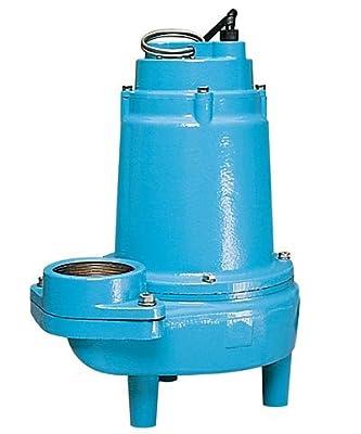 Little Giant 514620 16S-CIM 230-volt 1 HP Sewage Pump, 1-Pack