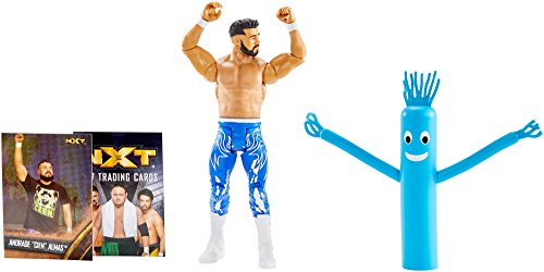 WWE NXT Takeover Andrade ''CIEN'' Almas Action Figure w/Topps Collectors Card by WWE