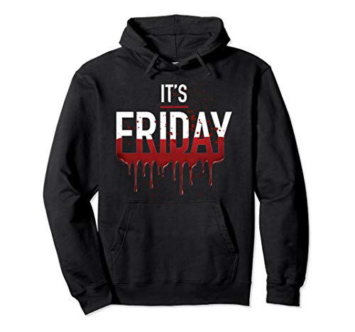 It's Friday Funny Horror Halloween Gifts Costume Idea Pullover ()