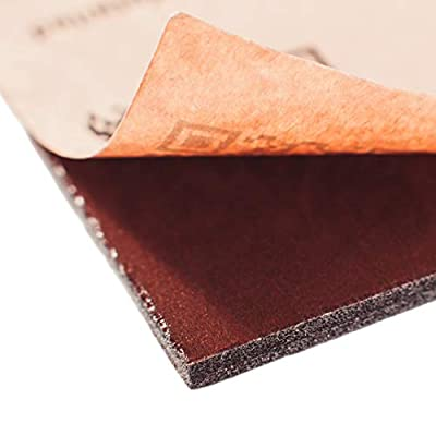 Noico RED 315 mil 9.5 sqft Сar Sound Insulation, Heat and Cool Liner, Self-Adhesive Closed Cell Deadening Material (PE Foam Sound Deadener): Automotive