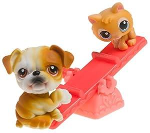 Amazon.com: Littlest Pet Shop Pet Pairs - Bulldog and