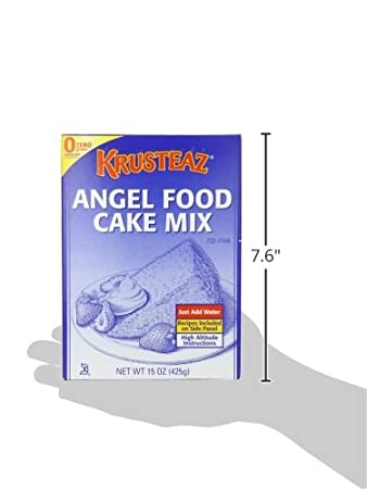 Amazon.com : Krusteaz Angel Food Cake Mix, 15 Ounce : Grocery & Gourmet Food