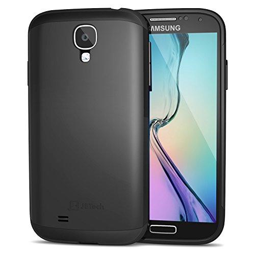 Galaxy S4 Hülle, JETech Super Schutz Samsung Galaxy S4 Schutzhülle Hülle Case Schlank Tasche für Galaxy S IV i9500 (Schwarz) - 3000