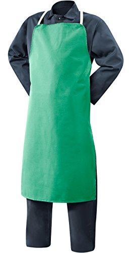 (Steiner 10326 Bib Apron, Weldlite Green 9-Ounce Flame Retardant Cotton, 24-Inch x 40-Inch (3-Pack))
