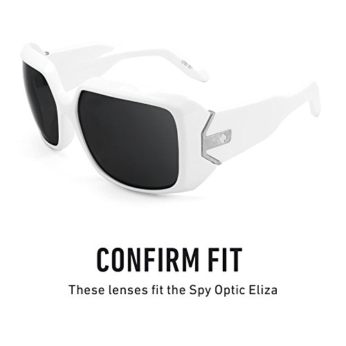 Optic Flash para — Eliza Bronce Lentes repuesto de Elite Opciones Spy Polarizados Mirrorshield múltiples fYnUUwxqPE