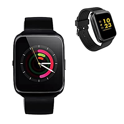Smart Band Z40 with activity tracker and fitness tracker. Waterproof Smart watch as Sports Bracelet with colorful display to connect with Android/iOS phones by bluetooth. Heartrate, blood pressure