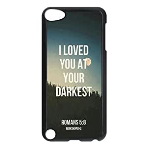 Fashion Protection Bible Verse Life Quotes Design Hard Cover Case for Iphone 5/5S WANGJING JINDA