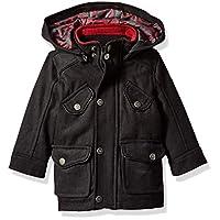 Urban Republic Baby Boys Wool Jackets, Black, 24M