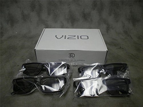 VIZIO Theater Passive 3D Glasses - 4 Pack
