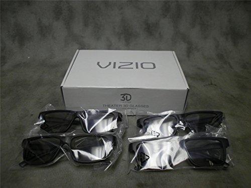 VIZIO Theater Passive 3D Glasses - 4 Pack