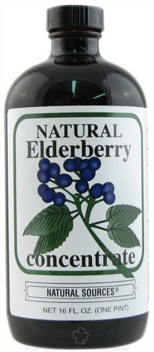 Natural Sources: Elderberry Concentrate, 16 oz (2 pack)