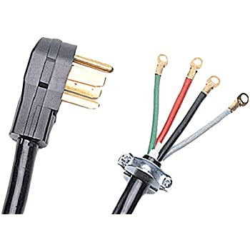 amazon com certified appliance 90 2020 4 wire dryer cord 4 feet rh amazon com