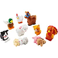 Fisher-Price Little People Farm Animal Friends with Baby...