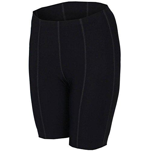 BDI Women's 8 Panel Flat Seam Short, Black, Large (Shorts Bdi Bike)
