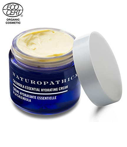 Naturopathica Calendula Essential Hydrating Cream, 1.7 oz. Deeply Moisturizing Cream Soothes Dry Sensitive Skin ECOCERT-certified