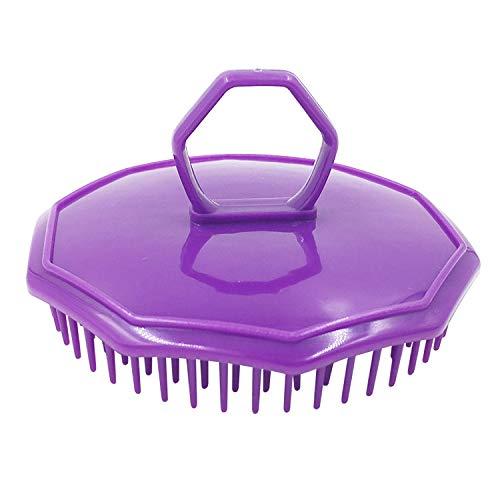 JPJ(TM) ❤️Hair Comb❤️1pcs Fashion Shampoo Scalp Shower Body Washing Hair Massage Massager Brush Comb (Purple)