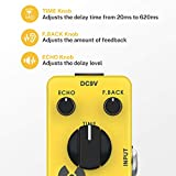 Donner Yellow Fall Vintage Pure Analog Delay Guitar