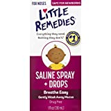 Little Remedies Noses Saline Spray Drops, 1 Fl Oz