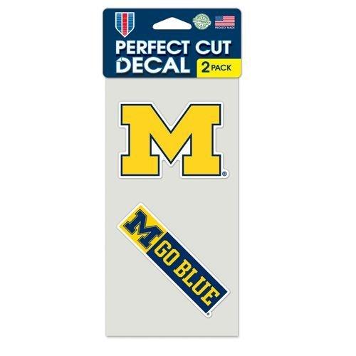 Michigan Wolverines Set of 2 Die Cut
