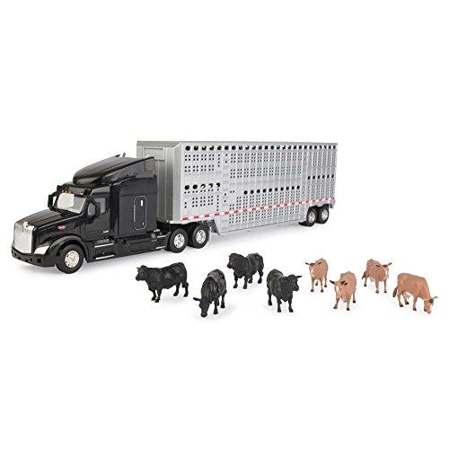 ERTL 1/32 Semi with Cattle Trailer & Animals from ERTL