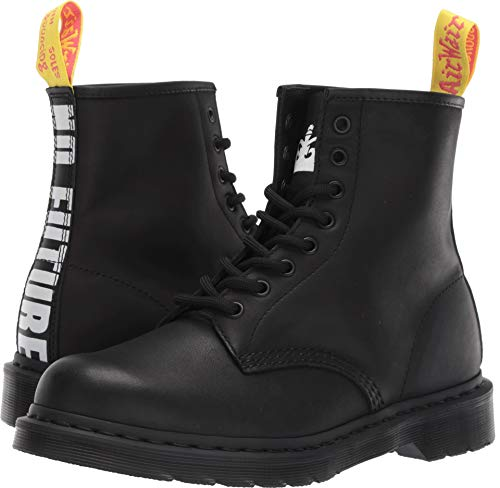Dr. Martens Unisex 1460 Sex Pistols Collab Black Milled Greasy/Backhand Leather 9 M ()