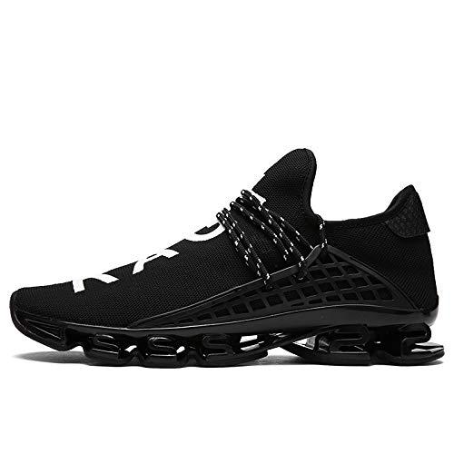 Zapatos de V Hasag Zapatillas Deporte Zapatillas Zapatillas 37 Negro Transpirables Deporte Mujeres de Pareja 4ngnxv
