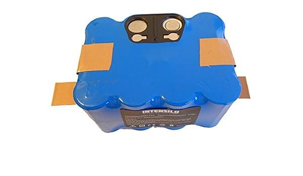 INTENSILO Batería NiMH 4500mAh (14.4V) para robot aspirador H ...