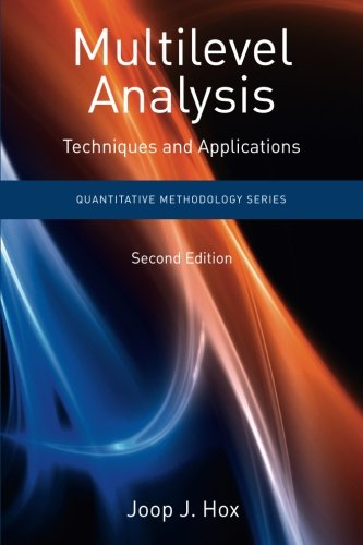 Price comparison product image Multilevel Analysis: Techniques and Applications,  Second Edition (Quantitative Methodology Series)