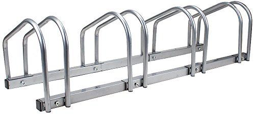 Crown Sporting Goods 4 Bicycle Floor Stand and Storage Rack
