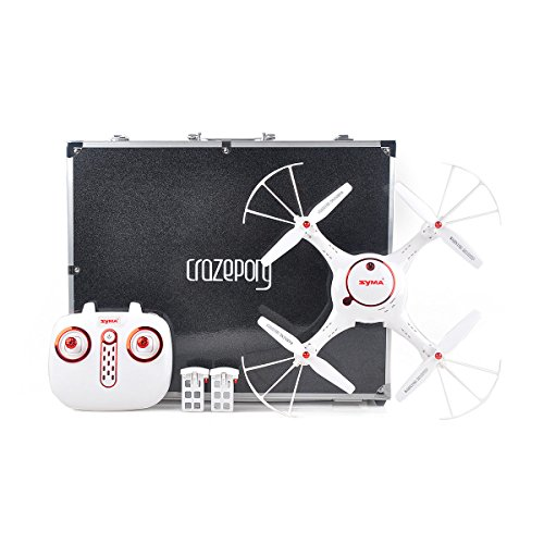 Crazepony SYMA X5UC RC Quadcopter with Custom Carrying Case