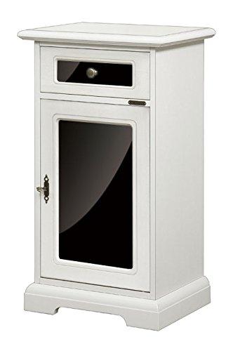 Mobiletto porta telefono laccato + metacrilato: Amazon.it: Casa e cucina